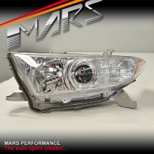Used genuine Left Hand Side Head Light for Toyota HighLander Kluger 11-13