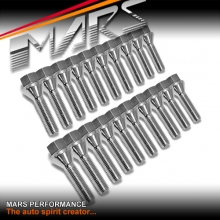 Chrome Mars Performance wheels M12 x 1.5 38mm extended long Bolts Set (20 pcs) for spacers