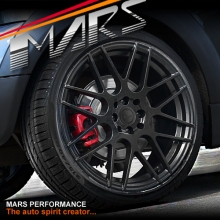 MARS MP-1060 4 x 18 Inch Matt Black Alloy Wheels Rims 4 x 100 & 4x114.3