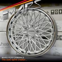 MARS MP-745 Hyper Silver 4x 18 Inch Alloy Wheels Rims 5x120