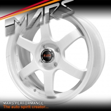 MARS MP-37 4 x 16 Inch Gloss White Alloy Wheels Rims MP37 4 x 100