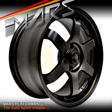 MARS MP-37 4 x 16 Inch Matt Black Alloy Wheels Rims MP37 4 x 100