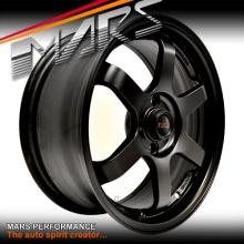 MARS MP-37 4 x 16 Inch Matt Black Alloy Wheels Rims MP37 4 x 100