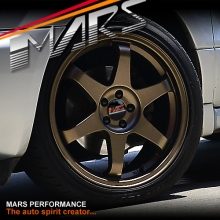 MARS MP-37 4 x 18 Inch Matt Bronze Stag Alloy Wheels Rims 5x100