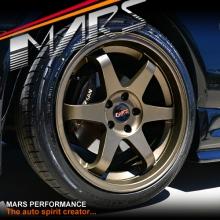 MARS MP-37 4x 18 Inch Matt Bronze Alloy Wheels Rims 5 x 114.3