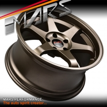 MARS MP-37 4x 18 Inch Matt Bronze Alloy Wheels Rims 5 x 120