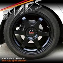 MARS MP-37 18 Inch Matt Black JDM Stag Alloy Wheels Rims 5x115 or 5x105 for Cruze