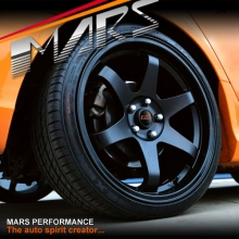 MARS MP-37 4 x 19 JDM Matt Black Stag Alloy Wheels Rims 5 x 114.3 for Ford Falcon BA BF FG