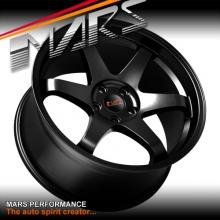 MARS MP-37 4 x 19 JDM Matt Black Stag Alloy Wheels Rims 5 x 114.3