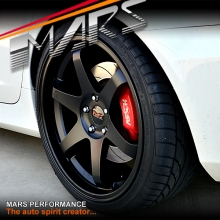 MARS MP-37 4 x 20 Inch Matt Black Alloy Wheels Rims for 5 x 120 HSV & Holden Commodore