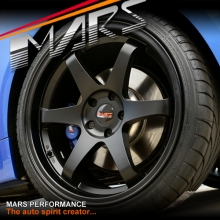 MARS MP-37 4 x 20 Inch JDM Matt Black Stag Alloy Wheels Rims for BMW 5 x 120