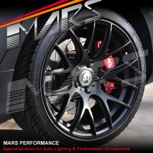 MARS MP-JL Matt Black 19 inch Concave Stag Alloy Wheels Rims 5x120 for Commodore & BMW
