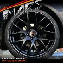 MARS MP-JL Matt Black 19x9.5 Inch ET35 Concave Alloy Wheels Rims 5x114.3