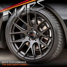 MARS MP-JL Matt Black 4x 19 Inch 5x112 Concave Alloy Wheels Rims 19x8.5 ET45