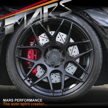 MARS MP-JW Matt Black 19 inch Concave Stag Alloy Wheels Rims 5x120
