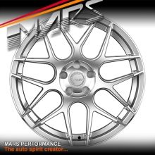 MARS MP-JW Machined Silver 4x 19 Inch Concave Stag Alloy Wheels Rims 5x120