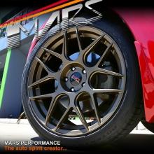 MARS MP-JW Matt Bronze 4x 19 Inch Concave Stag Alloy Wheels Rims 5x114.3