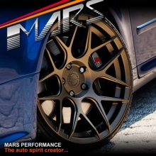 MARS MP-JW Matt Bronze 4x 19 Inch Concave Stag Alloy Wheels Rims 5x112
