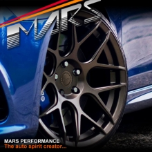 MARS MP-JW Matt Bronze 4x 19 Inch Concave Stag Alloy Wheels Rims 5x120