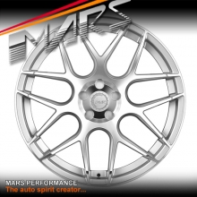 MARS MP-JW Hyper Silver 4x 20 Inch Concave Stag Alloy Wheels Rims 5x112
