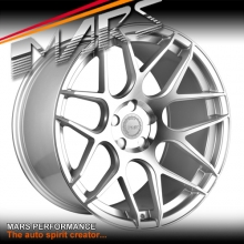 MARS MP-JW Hyper Silver 20 inch Concave Stag Alloy Wheels Rims 5x114.3