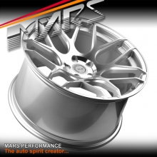 MARS MP-JW Hyper Silver 20 inch Concave Stag Alloy Wheels Rims 5x120