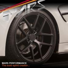 MARS MP-KW 20 Inch 5x120 Matt Sandy Black Stag Alloy Wheels Rims for BMW