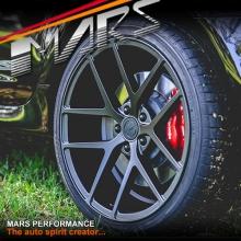 MARS MP-KW 20 Inch 5x120 Matt Sandy Black Stag Alloy Wheels Rims for Holden Commodore & HSV