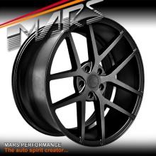 MARS MP-KW Sand Matt Black 4x 20 Inch Concave Stag Alloy Wheels Rims 5x114.3