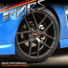 MARS MP-KW 20 Inch 5x120 Matt Sandy Black Stag Alloy Wheels Rims for Holden Commodore & HSV