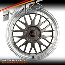 MARS MP-LM Gunmetal 4x 18 Inch Alloy Wheels Rims 5x105 5x115 for Cruze