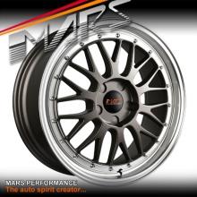 MARS MP-LM Gunmetal 4x 18 Inch Dish Alloy Wheels Rims 5x120 for BMW & Commodore