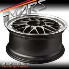 MARS MP-LM Gunmetal 4x 18 Inch Dish Alloy Wheels Rims 5x100