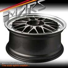 MARS MP-LM Gunmetal 4x 18 Inch Dish Alloy Wheels Rims 5x100