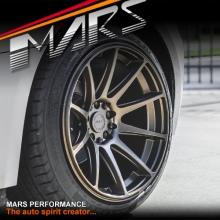 MARS MP-MS Matt Bronze Concave 4x 18 Inch Stag Alloy Wheels Rims 5x112 5x120