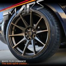 MARS MP-MS Matt Bronze Concave 4x 18 Inch Stag Alloy Wheels Rims 5x100 5x114.3