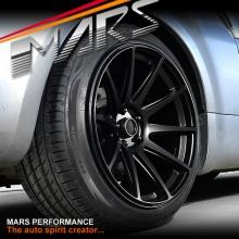 MARS MP-MS Matt Black 4x 19 Inch Deep Concave Stag Alloy Wheels Rims 5x114.3