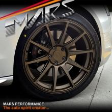 MARS MP-MS Matt Bronze 4x 19 Inch Deep Concave Stag Alloy Wheels Rims 5x112