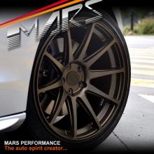 MARS MP-MS Matt Bronze 4x 19 Inch Deep Concave Stag Alloy Wheels Rims 5x120