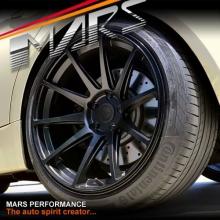 MARS MP-MS Matt Black 4x 19 Inch Deep Concave Stag Alloy Wheels Rims 5x112