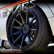 MARS MP-MS Matt Black 4x 19 Inch Deep Concave Stag Alloy Wheels Rims 5x120