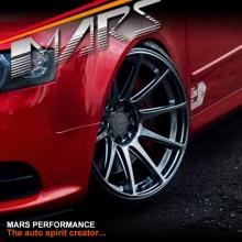 MARS MP-MS Hyper Black 4x 19 Inch Deep Concave Stag Alloy Wheels Rims 5x112