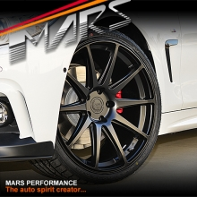 MARS MP-MS Matt Black 4x 20 Inch Deep Concave Stag Alloy Wheels Rims 5x120