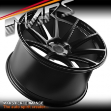 MARS MP-MS Matt Black 4x 20 Inch Deep Concave Stag Alloy Wheels Rims 5x114.3