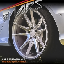 MARS MP-RH 19 inch Silver 4x 19 Inch Deep Concave Stag Alloy Wheels Rims 5x100