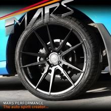 MARS MP-RH Matt Black 4x 20 Inch Deep Concave Stag Alloy Wheels Rims 5x114.3