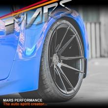 MARS MP-RH Matt Black 4x 20 Inch Deep Concave Stag Alloy Wheels Rims 5x112