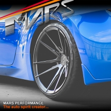MARS MP-RH Matt Black 4x 20 Inch Deep Concave Stag Alloy Wheels Rims 5x114.3