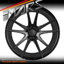 MARS MP-RH Matt Black 4x 20 Inch Deep Concave Stag Alloy Wheels Rims 5x112