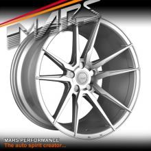 MARS MP-RH Hyper Silver 4x 20 Inch Deep Concave Stag Alloy Wheels Rims 5x120